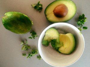 tip na večeru či raňajky z avokáda a oragána od Chuť od Naty