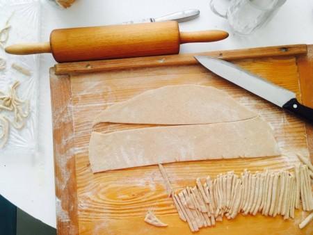 recept na tradičné rezance do fazuľovej polievky od Naty