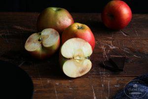 Jablká na reze od Naty
