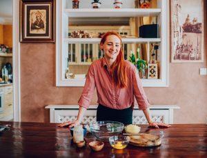 Blogerka Naty v kuchyni