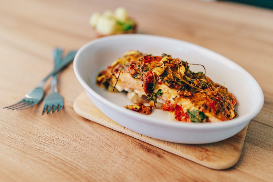 Jednoduchý recept na lososa od Chuť od Naty, ktorý chutí všetkým