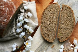 postup ako pripraviť chlieb s kváskom od Chuť od Naty