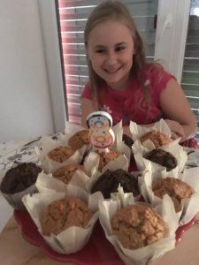 Chuť od Naty a jej muffiny sú chcené aj ako torta na narodeniny