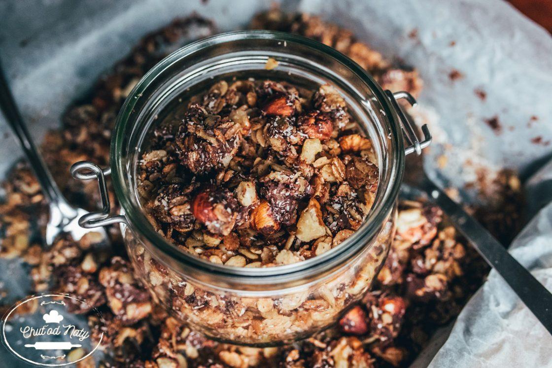 jednoduchý recept na domáce musli od Chuť od Naty