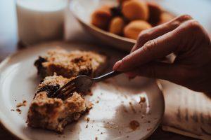 koláč bez vajec s kvásom od Naty na dôkaz, že pečenie je jednoduché