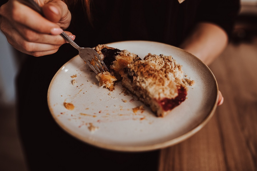 koláč bez vajec s kvások od Naty