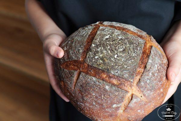 recept na chlieb od Naty pre začiatočníkov