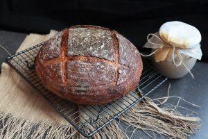 návod na chlieb s kvásku prezradila podrobne Chuť od Naty