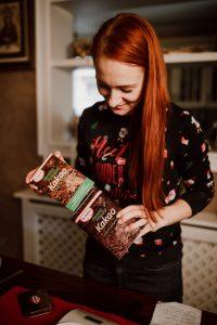 Chuť od Naty pripravila perníkový chlieb s použitím nealkalizovaného kakaa.