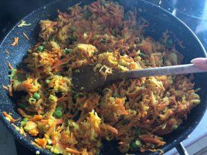 Sýte vegetariánske jedlo od Naty