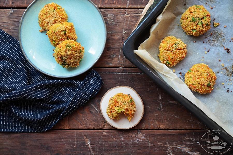 Inšpirácia Chuť od Naty na vegetariánske fašírky s quinoou
