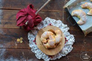 Skvelý recept od Chuť od Naty na koláče v tvare rožka