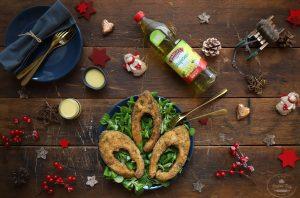 chutný recept na vianočného kapra od Naty