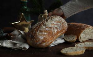 jednoduchý recept Chuť od Naty na kváskový chlieb
