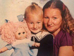 Chuť od Naty so svojou mamouo v škôlke
