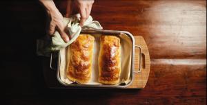 Chuť od Naty pripravila skvelý recept na pečeného lososa so špenátom