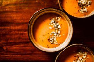 recept na tekvicovú polievku plnú chute od Naty