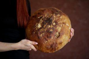 recept na chutný rodinný chlieb z kvásku od Naty