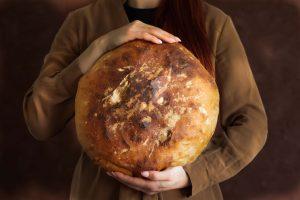 recept na chutný, veľký chlieb od Naty