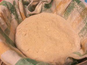 postup na prípravu kváskového chleba od Naty