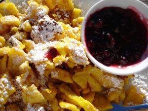 tradičné jedlo Kaiserschmarrn od Naty