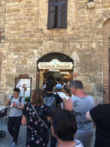Gelateria nel San Gimignano