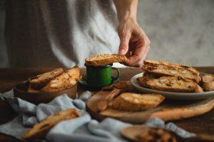 Jednoduchý recept na talianske sušienky cantucciny podľa Chuť od Naty