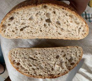 Nadýchaný celozrnný kváskovaný chlieb je najlepší od Naty