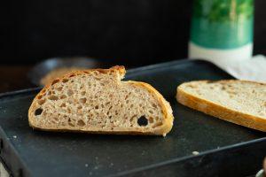 recept na nadýchaný celozrnný chlieb od Chuť od Naty