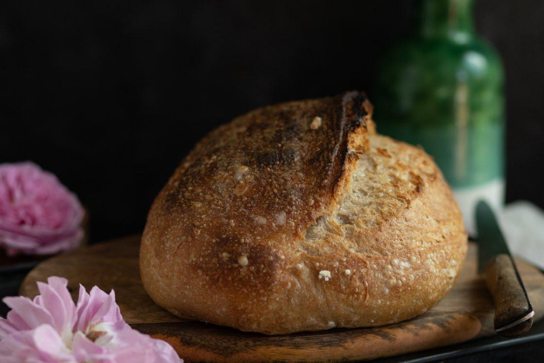 Recept na nadýchaný celoznný kváskový chlieb od Naty