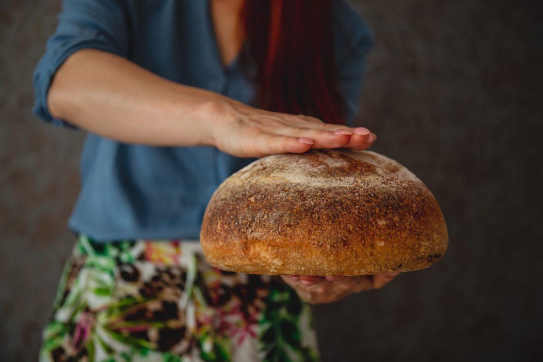výborný a mäkký zemiakový kváskový chlieb podľa receptu od Naty