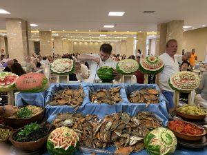 V Albánsku jedla aj Naty veľa rýb a morských plodov
