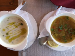 tradičná polievka albánska Tarrator je podľa Naty veľmi osviežujúca a sýta