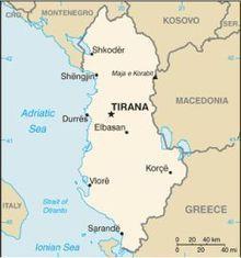 kde je Albánsko a aká je tam dovolenka podľa Naty