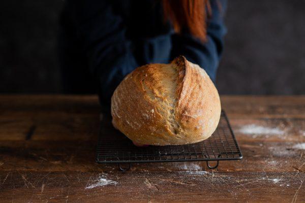 ako upiecť vláčny kváskový chlieb vás naučí Naty