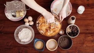 recept na chutný jesenný koláč podľa Naty sa oplatí vyskúšať