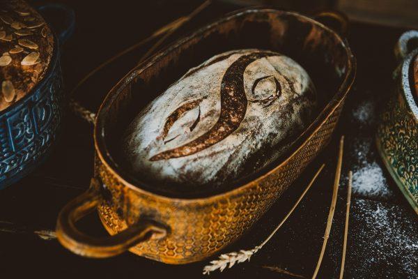 Keramická forma na chlieb