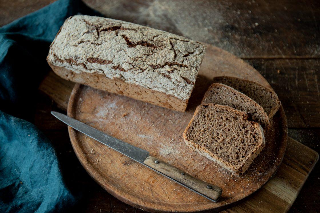 ako upiecť chutný ražný chlieb poradí Naty