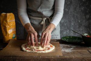 jednoduchý recept na domácu kváskovú pizzu od Naty
