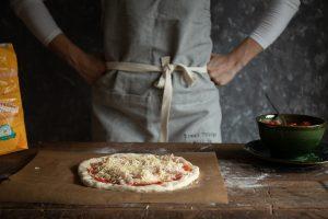 jednoduchý a dobrý recept na kváskovú pizzu má Chuť od Naty