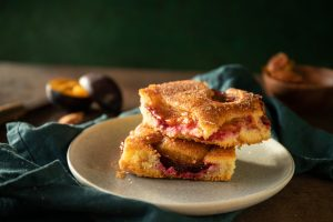 recept ne jednoduchý a rýchly slivkový koláč od Naty