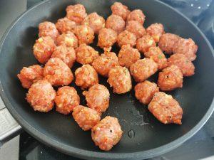 skvelé jedlo mäsové guľky od Naty si obľúbite