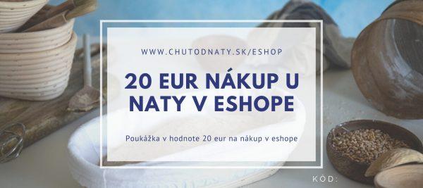 Poukaz 20 eur