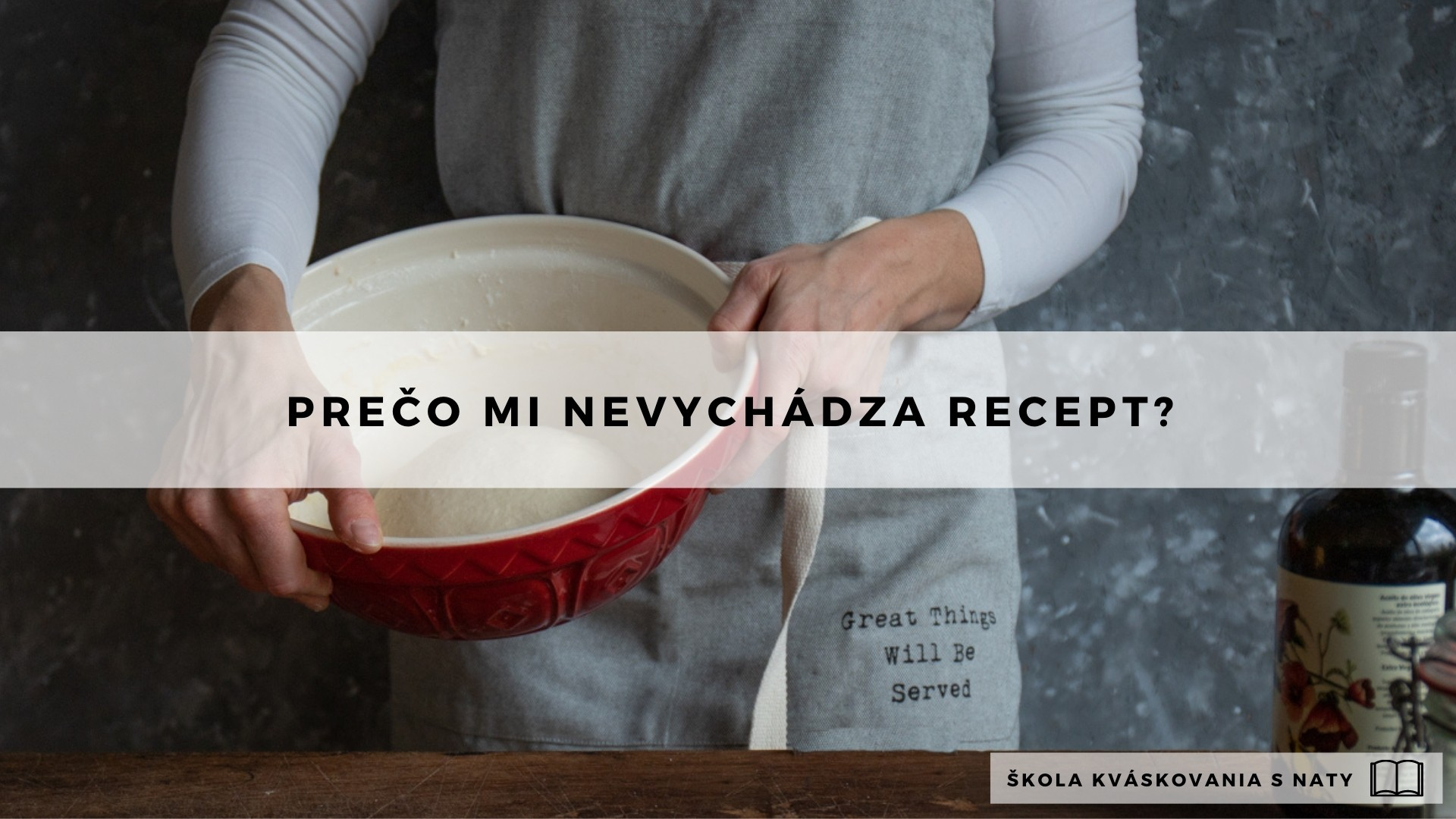 Prečo mi nevychádza recept?