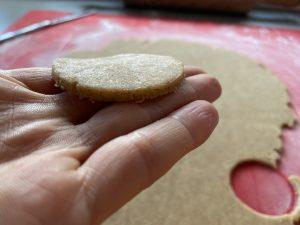 výborné manľlové kolieska z celozrnnej múky od Naty sú zdravou formou koláčov na Vianoce